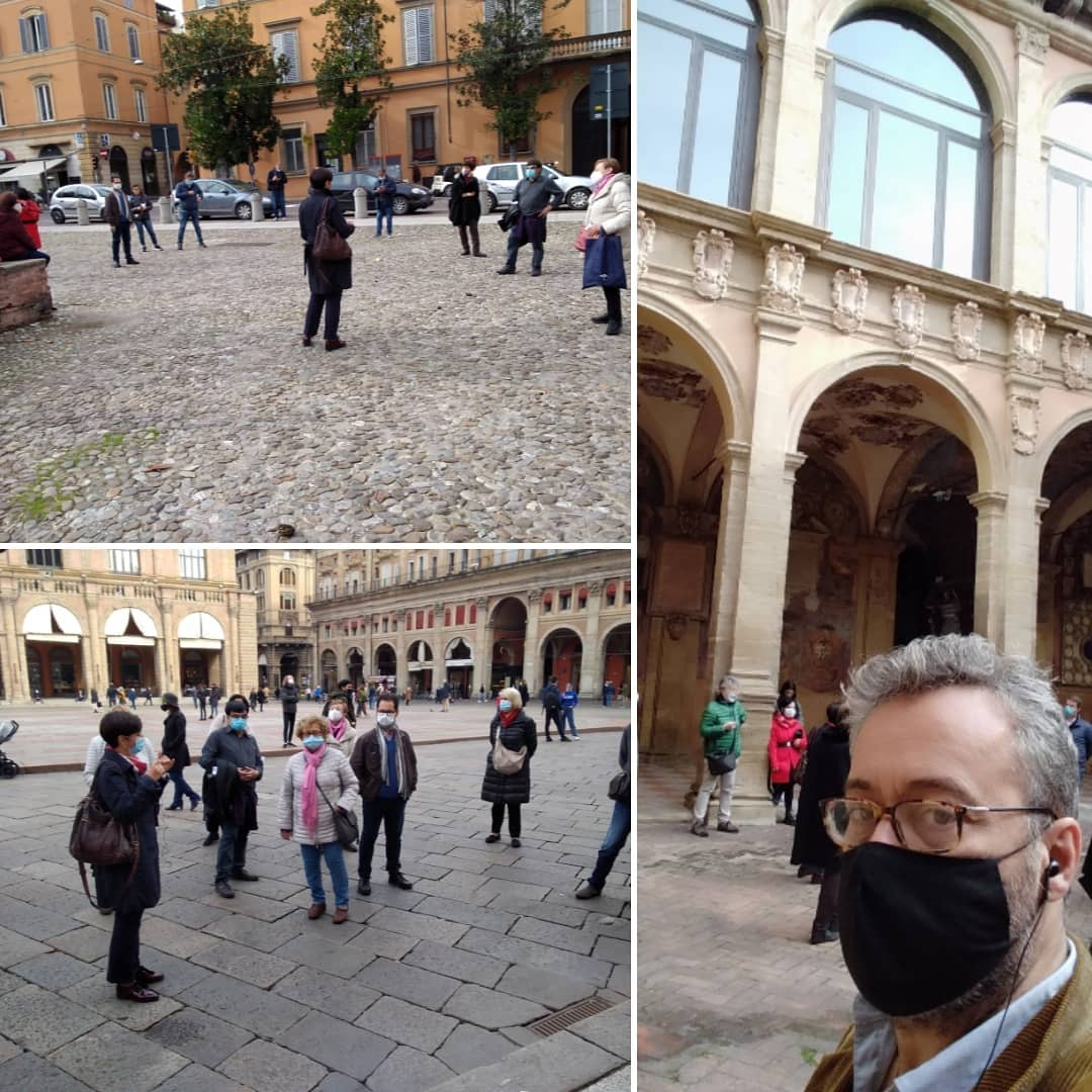 """Cultural and tourist route about the """"Bologna Spagnola"""""""