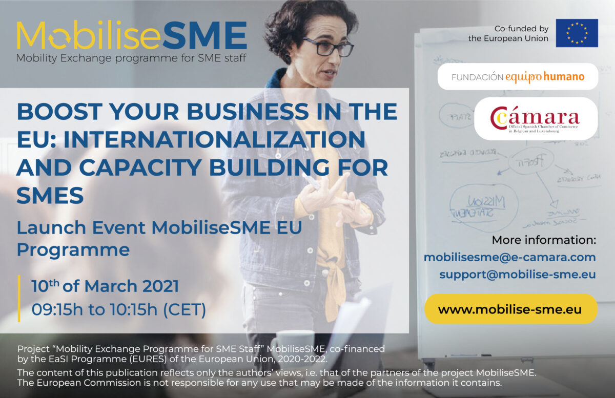 MobiliseSME Launch Event