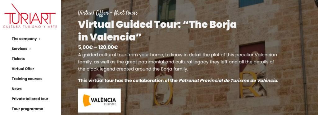 Virtual Tour Turiart